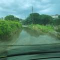 Piove su Molfetta, il villaggio Belgiovine isolato