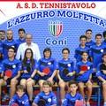 A.S.D. Tennistavolo L'Azzurro Molfetta, risultati prima giornata di gare di ritorno