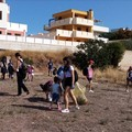 Tanti partecipanti all'ultimo clean up realizzato a Lama Martina