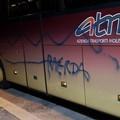 Vandali contro il bus della Chaminade. Le Aquile Molfetta: «Noi lontani da tutto questo»