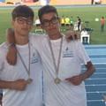 Cosmo Pio Sgherza e Luca Aurora con la rappresentativa pugliese ai campionati italiani under 16
