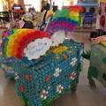 Al Gran Shopping Mongolfiera di Molfetta per Carnevale la sfilata dei carrelli allegorici