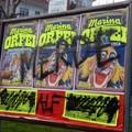 Frasi ingiuriose contro il circo in città