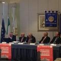 Il generale Rainò a Molfetta, ospite del Rotary Club
