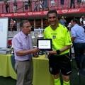 L'arbitro barese Antonio Leone premiato a San Siro