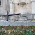 Atto di vandalismo a Molfetta: divelta una delle croci del Calvario