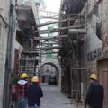 Dopo cinquant'anni Via Piazza a Molfetta liberata dai puntelli