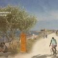 Come sarà la pista ciclabile tra Molfetta e Giovinazzo? Ecco le immagini
