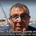 """Via la plastica dal mare, la marineria di Molfetta su  """"Striscia la notizia """""""