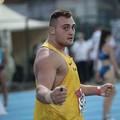 Carmelo Musci campione italiano indoor di lancio del peso