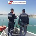 Esercitazione antincendio nel porto di Molfetta per forze dell'ordine e Sermolfetta