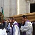 I solenni funerali di Luigi Martella alla presenza di centinaia di fedeli