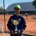 Il molfettese Giuseppe Samarelli ai campionati nazionali Under 11 di tennis