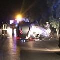 Pauroso incidente sulla provinciale per Ruvo. Un uomo sarebbe in gravi condizioni