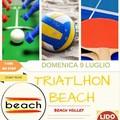 """""""Triatlhon beach """": una giornata di sport in riva al mare"""