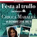 """Chicca Maralfa presenta il suo romanzo  """"Festa al trullo """" a Molfetta"""