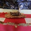 Presepe in un barcone in mostra nella Parrocchia Santa Famiglia di Molfetta