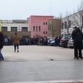 Studenti dell'Alberghiero di Molfetta in sciopero, corteo verso Lama Scotella