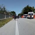 Grave incidente lungo la strada provinciale Molfetta - Terlizzi