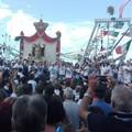La Madonna dei Martiri è sui pescherecci: inizia la sagra a mare di Molfetta