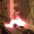 Auto a fuoco in via Verdi a Molfetta