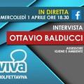 L'assessore Ottavio Balducci in diretta su MolfettaViva: l'emergenza Coronavirus in città