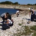 Spiagge pulite a Molfetta: trenta volontari a Cala San Giacomo