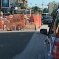 Lavori su Via Terlizzi, code e traffico rallentato per l'ingresso a Molfetta