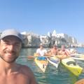 I ragazzi della Lega Navale di Molfetta circumnavigano il Gargano in canoa
