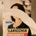 Prima Altomare, ora Laricchia: i vandali a Molfetta strappano i volti delle candidate