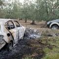 Un'auto in fiamme a Giovinazzo: era stata rubata a Molfetta