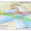 Razzo in caduta verso il centro-sud Italia, la Protezione Civile: «Stare lontani da finestre e porte vetrate»