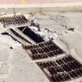 Pericolo tra via Ruvo e via Salvucci: tombini divelti e buco nell'asfalto