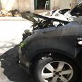 Il fuoco colpisce ancora: brucia un'altra auto