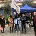 """Gli  """"Attivisti 5 Stelle Molfetta"""" in giro per i quartieri della città"""