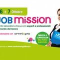 "Venerdì 6 e sabato 7 ottobre torna il  ""Job Mission """