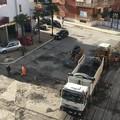 Iniziati i lavori di rifacimento dell'asfalto in via Cormio