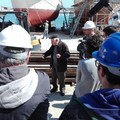 Dall'istituto nautico di Bari a Molfetta per imparare dai maestri d'ascia