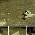 Distrutte nella notte le panchine di piazzetta Madonna delle Rose