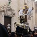 """""""la Pietà """" in processione all'una della notte."""