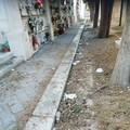 Cimitero di Molfetta sporco? Le segnalazioni dei lettori