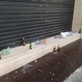 Il Covid non ferma gli incivili: a Corso Umberto bagordi e rifiuti