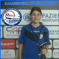 ASD Trnnistavolo L'Azzurro Molfetta: Sara Minervini è oro al torneo Regionale
