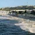 Schiuma bianca in mare, la Lac presenta esposto in Procura