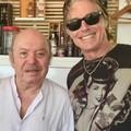 """Da Hollywood a Molfetta. Ronn Moss e quel pranzo al  """"Ristorante Adriatico """" con Lino Banfi"""