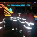 Il SerMolfetta impegnato nelle operazioni di soccorso ai naufraghi