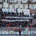 I tifosi della Molfetta Calcio rendono omaggio all'ex Rocco Augelli