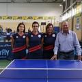 Tennistavolo, prima giornata di campionato per L'Azzurro Molfetta