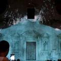 Video mapping; la chiesa del Purgatorio sotto una luce nuova