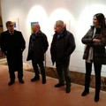 Inaugurata nella Sala dei Templari la mostra d'arte di Raffaele Ferrero